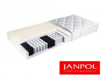 Materac pocket z lateksem i pianką poliuretanową Janpol AFRODYTA