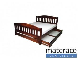 Łóżko drewniane Amida Materace Dla Ciebie