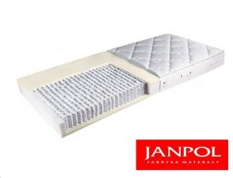 Materac multipocket średniotwardy z lateksem Janpol ANDROMEDA H2