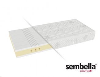 Materac piankowy Bultex 1000 twardy Sembella