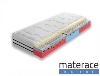 Materac wysokoelastyczny Cortina Visco Lux średniotwardy Materace Dla Ciebie