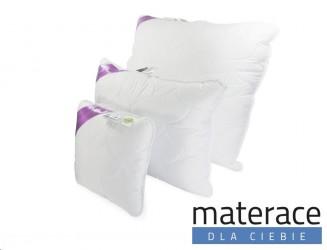 Poduszka syntetyczna puchowa biała Flora Materace Dla Ciebie