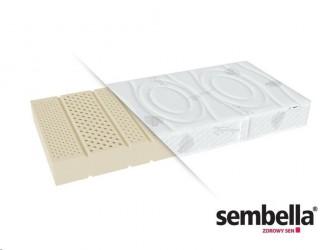 Materac lateksowy średnio twardy Hetman Aqua H2 Sembella