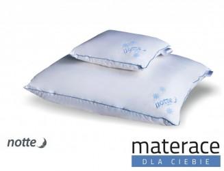 Poduszka naturalna puchowa Notte Snow Materace Dla Ciebie