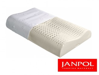 Poduszka profilowana lateksowa Janpol