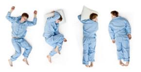 Sleeptime - Pozycje snu